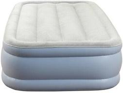 15 in. Elevated Adjustable Air Bed Mattress Twin Size w/ Ele