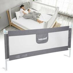 195cm Baby Guard Bed Rail Toddler Safety Adjustable Rail Inf