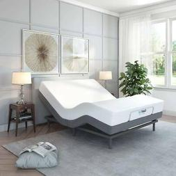 Classic Brands Adjustable Queen Size Bed Base with Remote Ma
