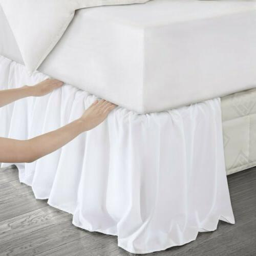 adjustable bed skirt fits all beds extra