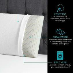 Beautyrest Latex Foam Pillow with Removable Cover, 3 sizes -
